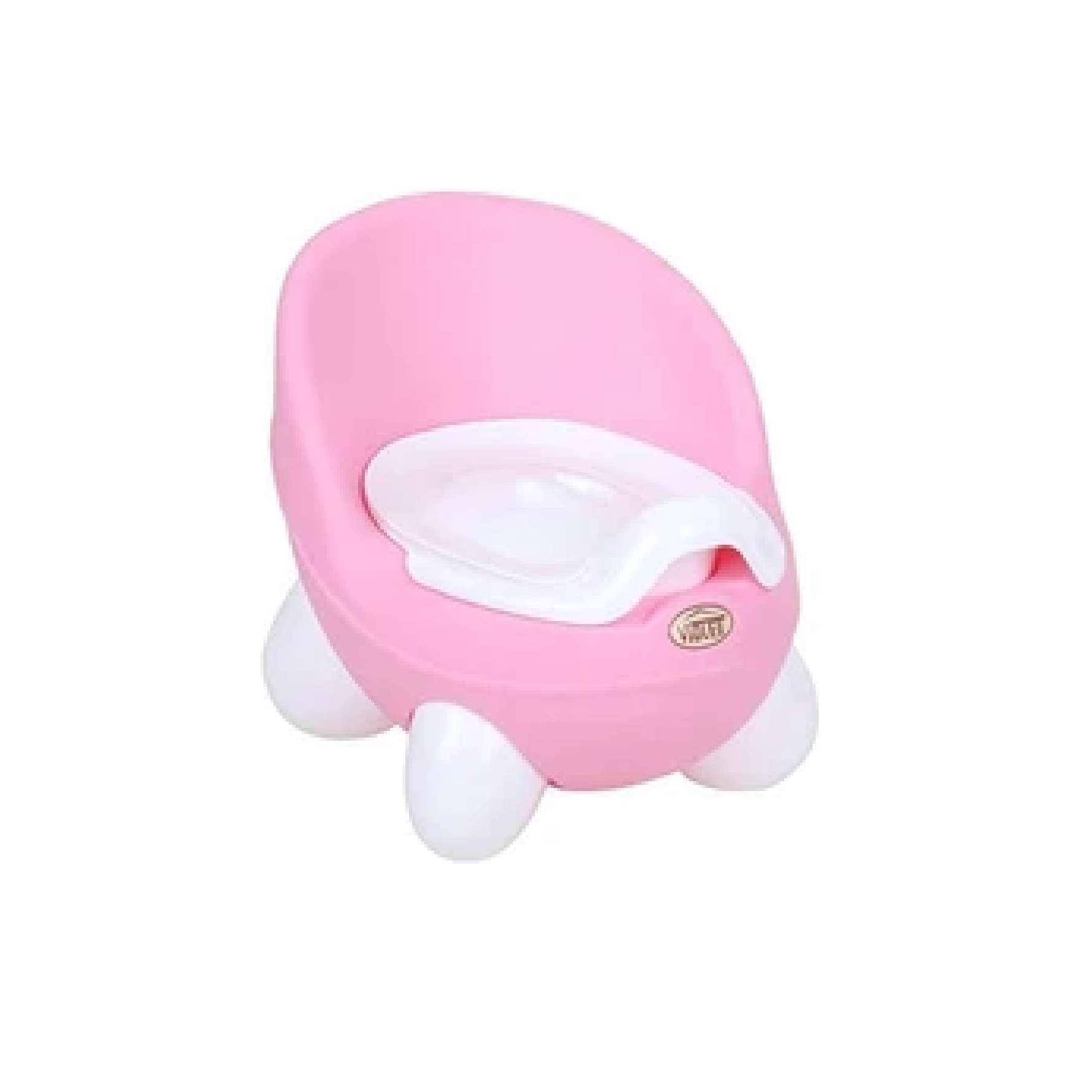 Panda Style Baby Potty Training Chair Easy Potty Pink/Blue 27 x 20cm K0084