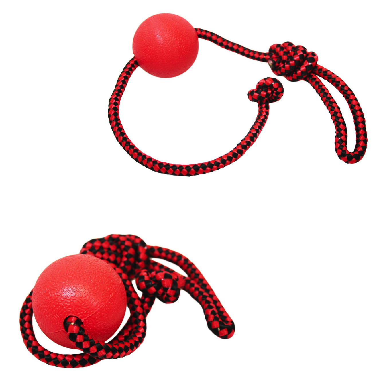 Pets Cats Dogs Fun Chewing Ball and Rope Indoor Outdoor Dog Toy 5cm Ball Rope 32