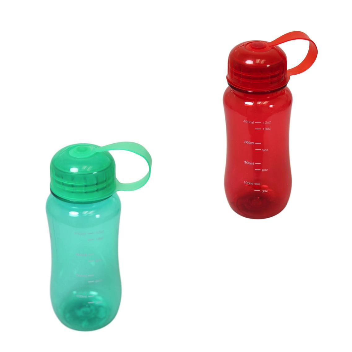 Gym Yoga Sports Water Bottle Pastel Plastic Colours 400ml Drinking Bottle